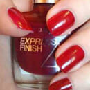 Maybelline New York Express Finish Nagellack, Farbe: 530 Red Seduction