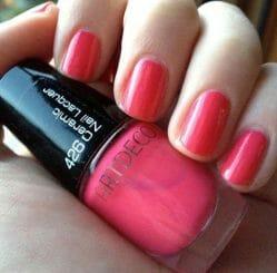 Produktbild zu ARTDECO Ceramic Nail Lacquer – Farbe: 426 Hot Pink (Mini Edition)
