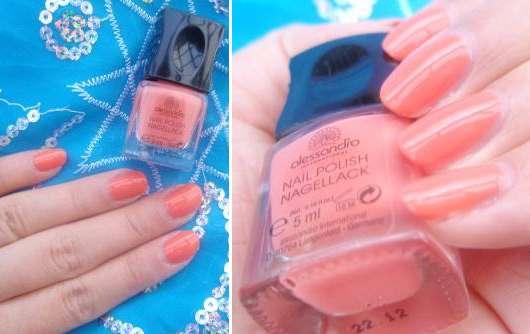 alessandro International Nail Polish, Farbe: Peachy Cinderella