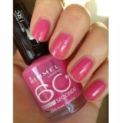 Produktbild zu Rimmel London 60 Seconds Nailpolish – Farbe: 250 Pink Punch
