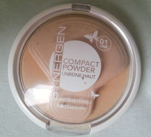 Synergen Compact Powder für unreine Haut, Farbe: 01 One