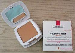 Produktbild zu LA ROCHE-POSAY Toleriane Teint Mineral Korrigierendes Kompakt-Puder Make-up – Nuance: 13 Beige Sable