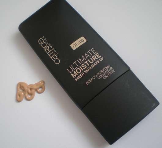 Catrice Ultimate Moisture Fresh Skin Make Up, Nuance: 010 Light Beige