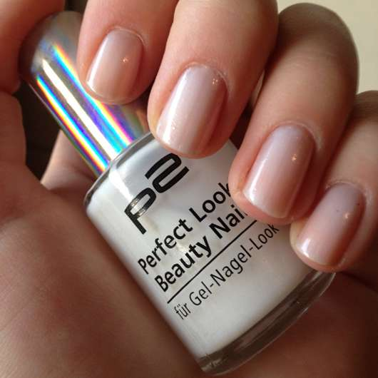 p2 Perfect Look Beauty Nails, Farbe: 010 white charm