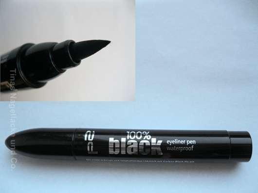 p2 100% black eyeliner pen waterproof