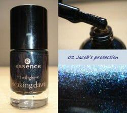 Produktbild zu essence the twilight saga: breaking dawn – part 2 nail polish – Farbe: 01 jacobs protection (LE)