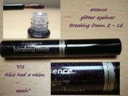 Produktbild zu essence the twilight saga: breaking dawn – part 2 glitter eyeliner – Farbe: 02 alice had a vison – again (LE)