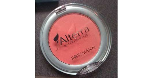 Alterra Rougepuder, Farbe: 08 Peachy