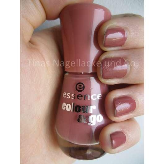 essence colour & go nail polish, Farbe: 111 english rose