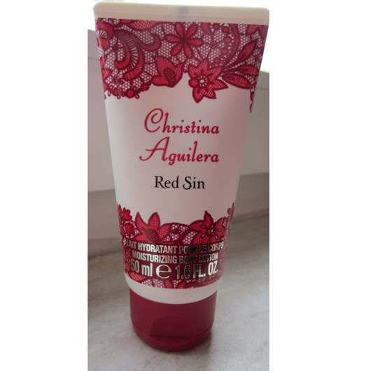 <strong>Christina Aguilera</strong> Red Sin Moisturizing Body Lotion