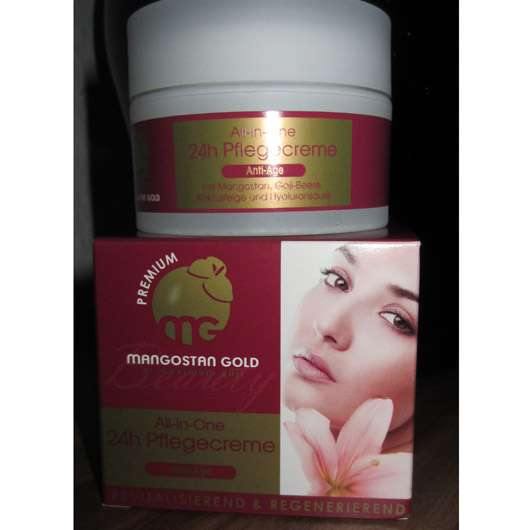 Mangostan Gold Premium 24h All-In-One 24h Pflegecreme (Anti-Age)