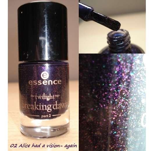 essence the twilight saga: breaking dawn – part 2 nail polish, Farbe: 02 alice had a vison – again (LE)