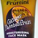Fruttini Moisturising Face Mask Ginger Passionfruit