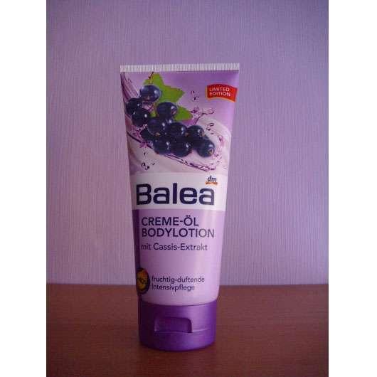 Balea Creme-Öl Bodylotion mit Cassis-Extrakt (LE)