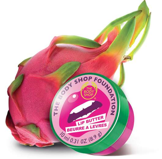 The Body Shop Foundation Dragon Fruit Lip Butter
