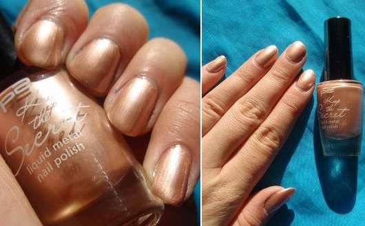 p2 keep the secret liquid metal nail polish, Farbe: 020 eternal rose (LE)