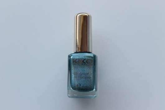 KIKO holographic nail lacquer, Farbe: 401 Peacock Green (LE)