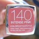 Maybelline New York Color Sensational Lipstick, Farbe: 140 Intense Pink
