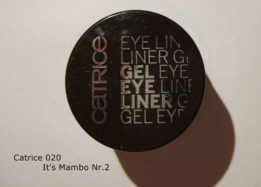 Catrice Gel Eye Liner, Farbe: 020 It's Mambo Nr. 2