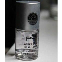 Produktbild zu p2 cosmetics Hypoallergen + Quick Dry Base Coat