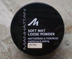 Produktbild zu MANHATTAN Soft Mat Loose Powder – Farbe: 1 Natural