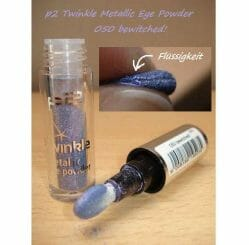 Produktbild zu p2 cosmetics twinkle metallic eye powder – Farbe: 050 bewitched!