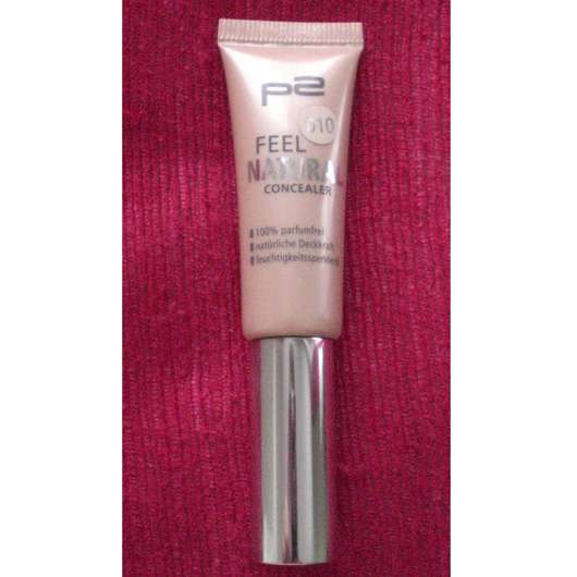 p2 feel natural concealer, Farbe: 010 natural beige
