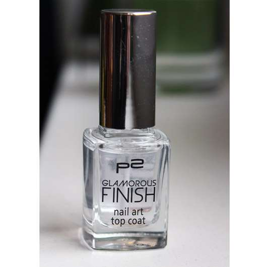 p2 glamorous finish nail art top coat