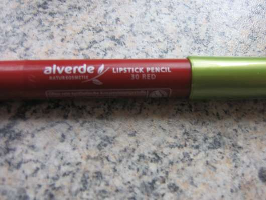 alverde Lipstick Pencil, Farbe: 30 Red