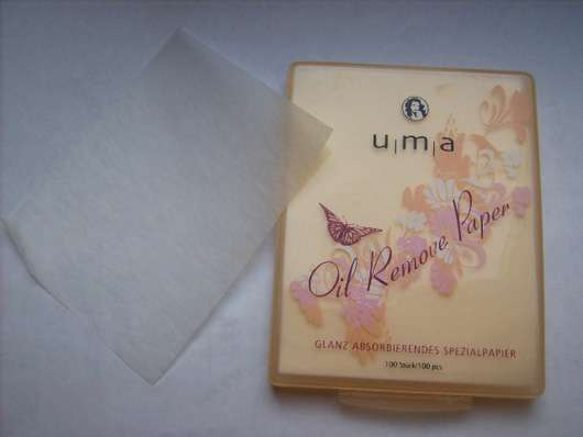<strong>uma cosmetics</strong> Oil Remove Paper