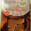 Rubin Licht Duft-Teelichte Zimt
