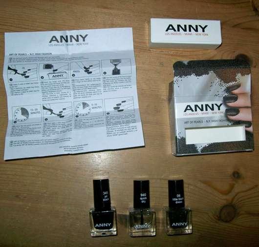 Anny Art Of Pearls N.Y. High Fashion Mini-Set, Farbe: 345 Jet Black