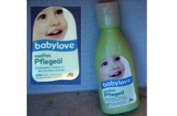 Produktbild zu babylove Sanftes Pflegeöl
