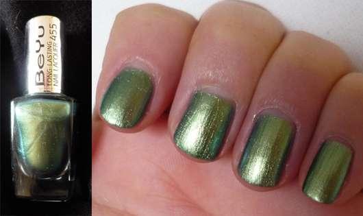 BeYu Long Lasting Nail Lacquer, Farbe: 455 Metallic Cypress