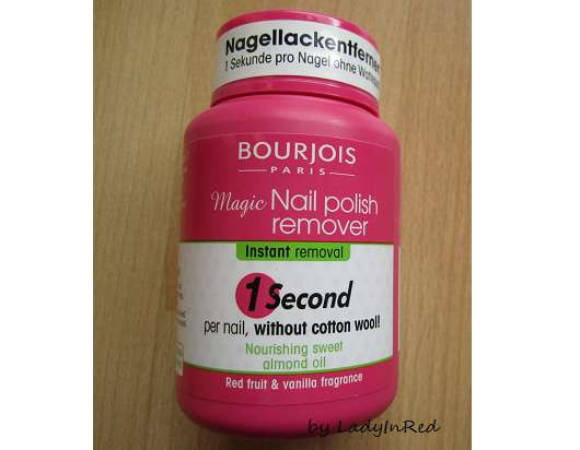 <strong>Bourjois Paris</strong> Magic Nail Polish Remover