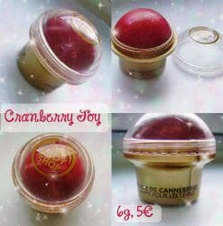 Produktbild zu The Body Shop Cranberry Joy Lip Balm (LE)
