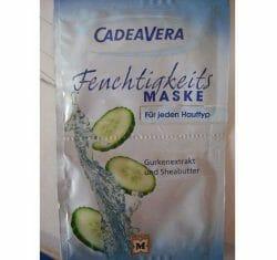 Produktbild zu CV CadeaVera Feuchtigkeitsmaske Gurkenextrakt und Sheabutter