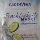 CadeaVera Feuchtigkeitsmaske Gurkenextrakt und Sheabutter