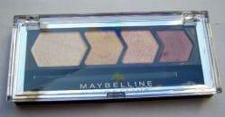 Produktbild zu Maybelline New York Eyestudio Quattro Diamond Glow Lidschatten – Farbe: 20 Coral Drama