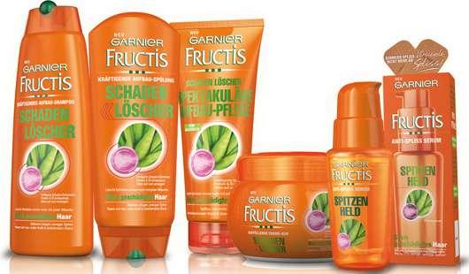 Garnier Fructis Schaden Löscher