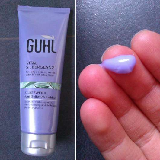 GUHL Vital Silberglanz Anti-Gelbstich Farbkur