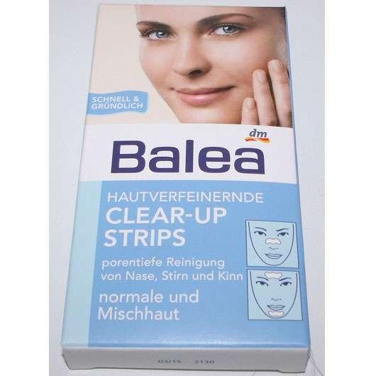 Balea Hautverfeinernde Clear-Up Strips (normale und Mischhaut)