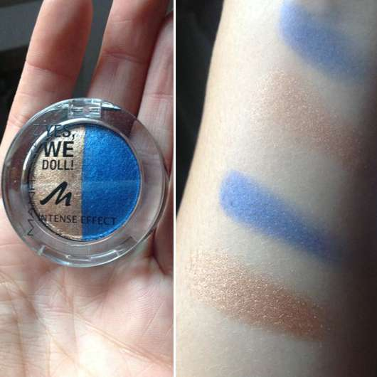 Manhattan Intense Effect Eyeshadow, Farbe: 03 Mary Marionette (Yes, We Doll! LE)