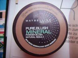 Produktbild zu Maybelline New York Pure Blush Mineral Powder Blush – Farbe: 70 Meteor Brown