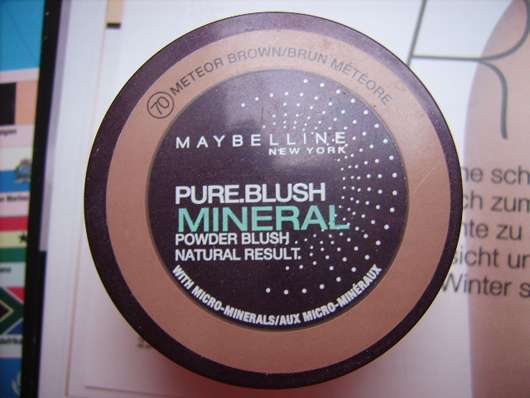 Maybelline New York Pure Blush Mineral Powder Blush, Farbe: 70 Meteor Brown
