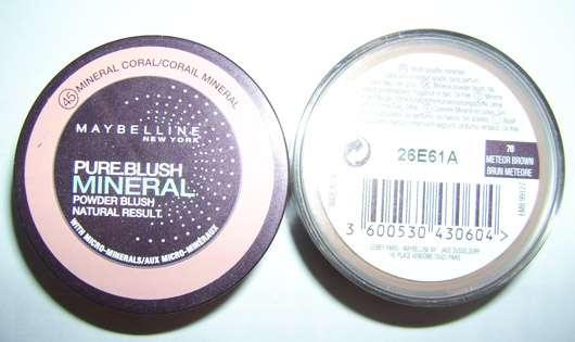 Maybelline New York Pure Blush Mineral Powder Blush, Farbe: 45 Mineral Coral