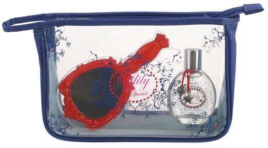 Oilily Blue Sparkle mit Beauty-Set