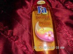Produktbild zu Fa Sensual & Oil Monoiblüte Duschpflege