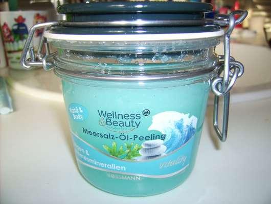Wellness & Beauty Meersalz-Öl-Peeling Algen & Meeresmineralien