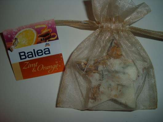 "Balea Badestern ""Zimt & Orange"""